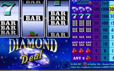 Play Diamond Deal Pokies Slot and Fill your Wallet with Diamonds